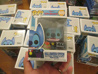 Funko Pop Disney Lilo & And Stitch Halloween Stitch  # 605  Exclusive Fye 2019
