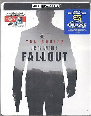 Mission: Impossible Fallout Best Buy (SteelBook) 4K Ultra HD + Blu-Ray