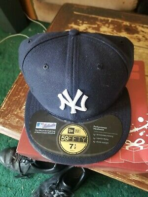 5aa0f57012c6 SUPREME NEW YORK Yankees Bucket Hat Navy Size Md / Lg - $105.00 ...