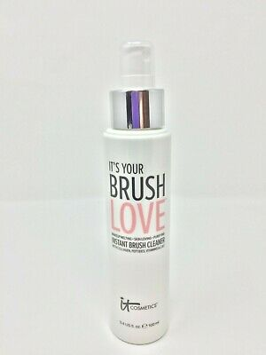 IT Cosmetics It's Your Brush Love Instant Makeup Brush Cleaner - 3.4 fl oz - New