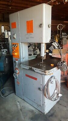 MSC 9514613 VARIABLE Speed Pulley Vertical Bandsaw with