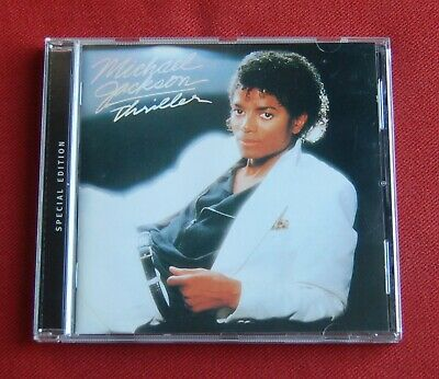 Michael Jackson - Thriller - Special Edition - Epic Records CD - 2001 - OOP