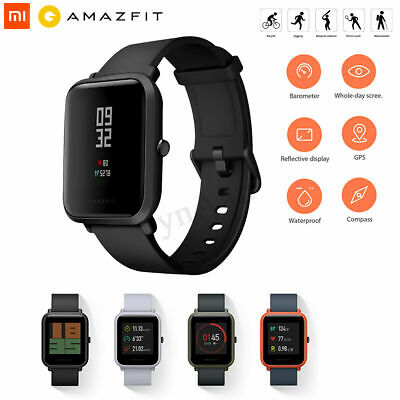 Xiaomi Huami AMAZFIT Bip Smartwatch IP68 Bluetooth Heart Rate Sleep Monitor GPS