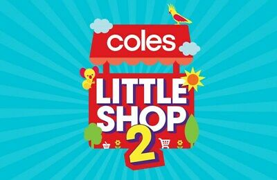 Coles Little Shop 2 Mini Collectables Full set with free case or individual item