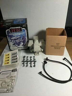 Vintage Star Wars Mini Rig Vehicle Maintenance Energizer Unused In Its Box