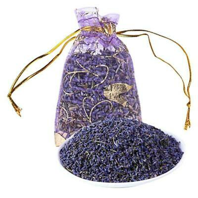 Real Dry Lavender Organic Dried Flowers Sachets Bud Bloom Bag Scents Fragra S9S3