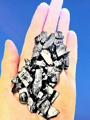 ELITE Shungite Water Filter Natural Stone EMF REAL KARELIAN Guaranteed  - 100g