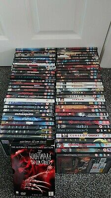 Horror Films / DVDs..Event Horizon,,Stephen King,,The Fly,,,and more