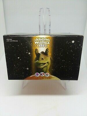 NEW Star Wars Episode 1 Joking Jar Jar Binks KFC Taco Bell Figurine NIB