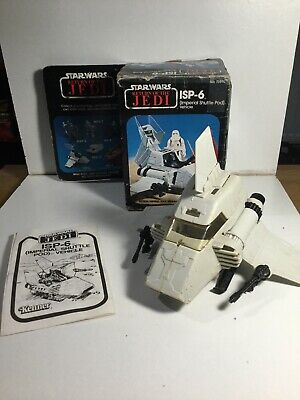Vintage Star Wars Mini Rig ISP-6 Imperial Shuttle Pod In Its Box & Instructions