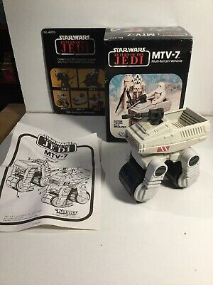 Vintage Star Wars Mini Rig MTV-7 Multi Terrain Vehicle In Its Box & Instructions