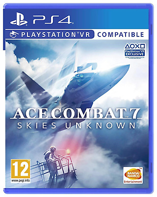 Ace Combat 7: Skies Unknown - VR Compatible PS4 (PlayStation 4) (PSVR) Brand New
