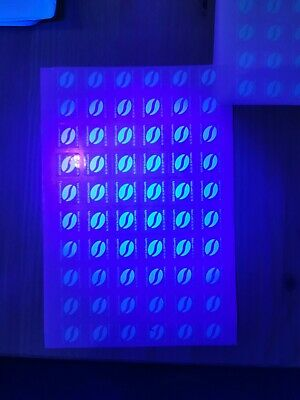 60 Mcdonald's Coffee Bean Stickers Ultraviolet (11 Cups)