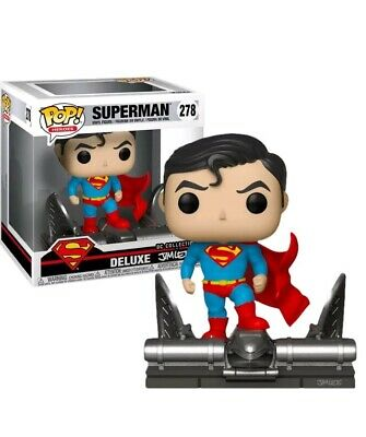 Funko Pop Deluxe 278 Superman On Gargoyle Exclu Jim Lee