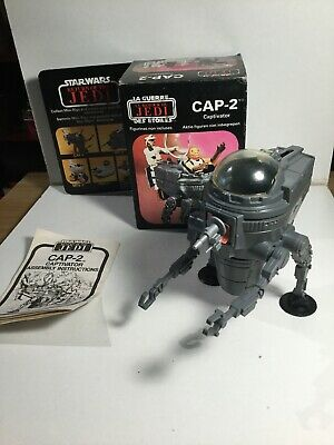 Vintage Star Wars Mini Rig Cap-2 Captivator In Its Box With Instructions