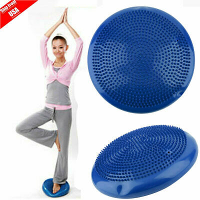 Yoga Air Balance Disc Stability Air Board Gym Fitness Cushion with Pump MY