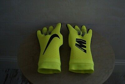 Nike GK Mercurial Touch Elite New With Box 8 ACC Yellow Goalkeeper Gloves Yell