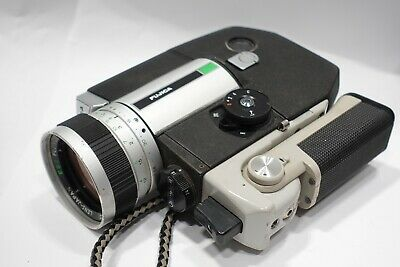 FUJICA Z800 Single-8 Film Movie Camera EBC Fujinon 1.8/8-64mm Lens, Working