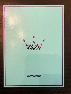 MAMAMOO FULL ALBUM KPOP- PURPLE - Booklet - No photocard
