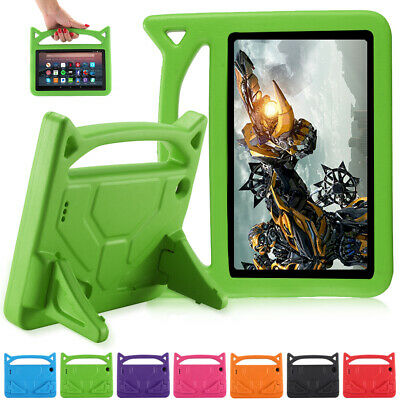 """For Amazon Kindle Fire 7"""" HD 8 10 Case Kids Safe EVA Foam Stand Shockproof Cover"""