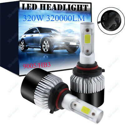 Fits Vauxhall Astra MK4 Coupe Low High Beam H7 HB3 320W 32000LM Headlight Bulbs