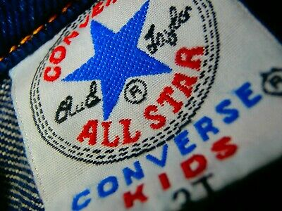 Kids 3T 3 YEAR OLD TODDLER Converse Chuck Taylor All Star Jean Jacket Denim