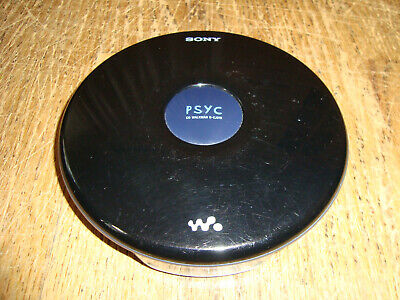 Great Working SONY PSYC D-EJ010 CD WALKMAN Portable Player DISCMAN Tested CD-RW