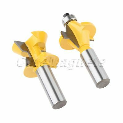 1/2″ Shank Tongue Groove Router Bits Woodworking Cutter Milling Trimming Tool