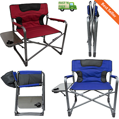 OZARK TRAIL XXL Director Chair Camping Outdoor 600 Lb Extra