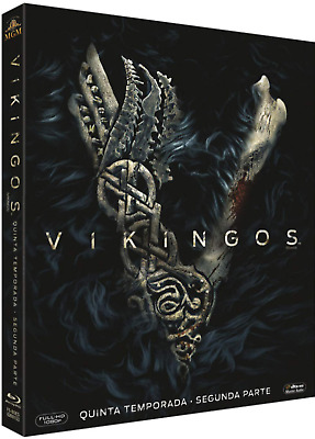 Vikings Stagione 5 Parte 2 - Blu Ray Nuova § - Audio Francese