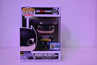 SDCC 2019 Exclusive Funko Pop The Big Bang Theory Howard Wolowitz As Batman 834