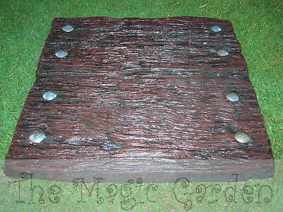 Double sleeper pavers stepping stone cement concrete moulds molds B