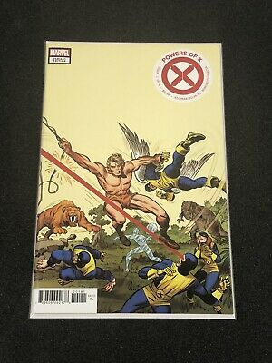 Marvel Comics Powers Of X #1 Kirby 1:100 Hidden Gem Variant 2019 CASE FRESH NM