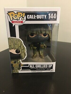 Funko Pop Games Call of Duty All Ghillied Up 144 Vinyl Figure New READ