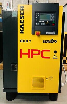 HPC / Kaeser SX8T Rotary Screw Compressor With Dryer! 5.5Kw, 28.2Cfm Immaculate!