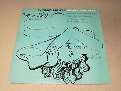 Kenny Burrell- Blue Lights, Vol.1- LP Blue Note BLP 1596 Mono RVG stamped