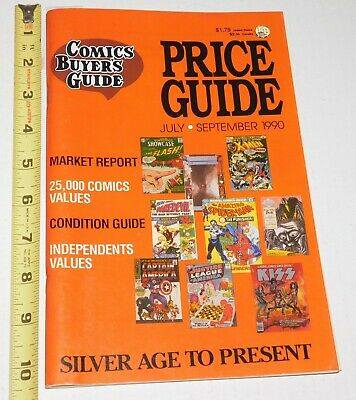 KISS Band Marvel Blood Comic 1977 on Cover Comics Buyer's Guide 1990 Magazine