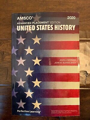 AMSCO AP United States History 2020 (Latest) Edition - Free Expedited Shipping!