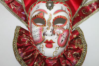 Large size Venetian Mask Made in Italy