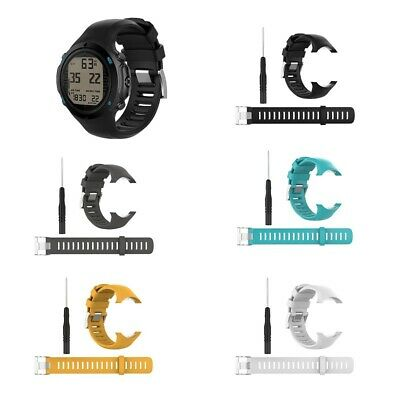 Replacement Silicone Wrist Band Strap For Suunto D6 Dive D6i NOVO ZULU Watch