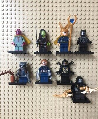 Lego Mini figures- Avengers End Game Lot Of 8