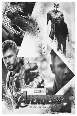 The Avengers Endgame New Marvel Superheroe Movie Poster 30 24x36in Y-226
