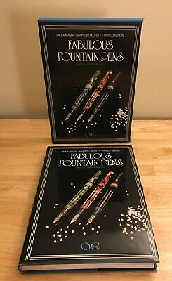 'Fabulous Fountain Pens' 800 Collectibles 1884-1990' Maggi Negretti Nencini