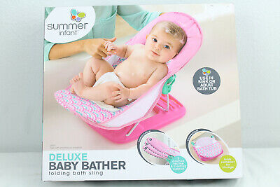 Summer Infant Deluxe Baby Bather Pink 09585