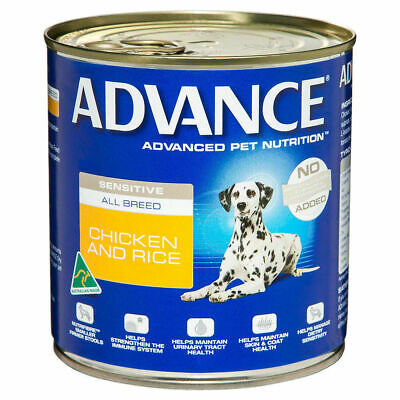 Advance Dog Food Adult All Breed Sensitive Chicken & Rice 410g 12's (P5946)