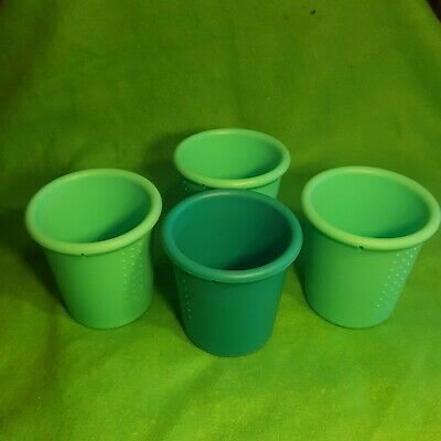4 Silikids Siliskin Silicone Straw Cup's NO LIDS VERY CLEAN