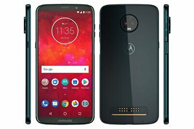 Motorola Moto Z3 Play - 32GB - Ceramic Black Sprint  A Unlocked Shadow LCD