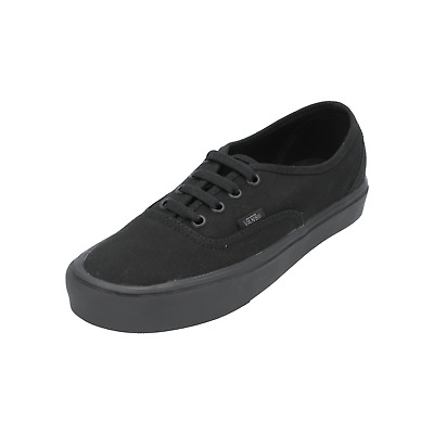 VANS AUTHENTIC LITE Canvas Damen Herren Sneakers Sport Schuhe schwarz NEU Sale