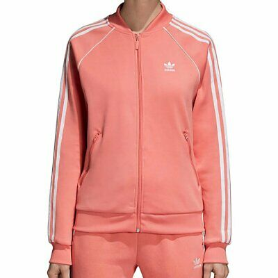Adidas GIACCA CON ZIP DONNA GIRLS PINK JACKETS DH3162 ULTIME TAGLIE
