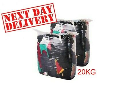 20 Kg Bag Of Mixed Coloured Cleaning Rags
